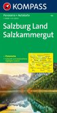 Kompass Karte Salzburg Land, Salzkammergut; Salisburgo, Salzkammergut
