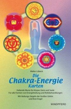 Die Chakra - Energie-Karten. Buch und 154 Karten - Lübeck, Walter