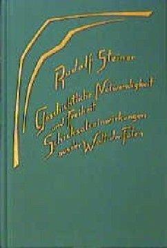 Geschichtliche Notwendigkeit und Freiheit - Steiner, Rudolf