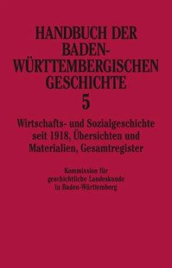 Handbuch der baden-württembergischen Geschichte 5