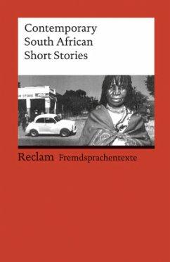 Contemporary South African Short Stories - Zander, Horst (Hrsg.)