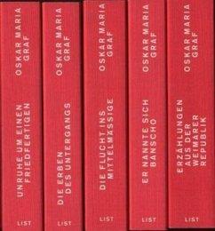 Werkausgabe, Studienausgabe in 16 Bänden - Graf, Oskar Maria