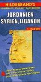 Hildebrand's Urlaubskarte Jordanien, Syrien, Libanon; Jordan, Syria, Lebanon