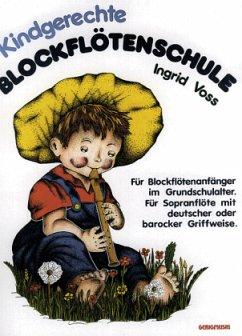 Kindgerechte Blockflötenschule