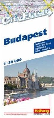 Hallwag City Flash Budapest