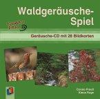 Waldgeräuschespiel, 1 Audio-CD + 28 Bildkarten