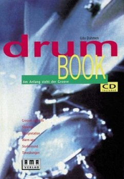 Drumbook, m. CD-Audio - Dahmen, Udo