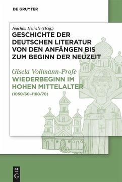 Wiederbeginn volkssprachiger Schriftlichkeit im hohen Mittelalter - Vollmann-Profe, Gisela