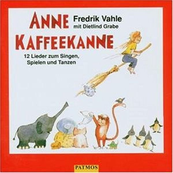 anne kaffeekanne cd audio von fredrik vahle dietlind. Black Bedroom Furniture Sets. Home Design Ideas