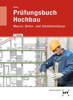Prüfungsbuch Hochbau - Röder, Lutz