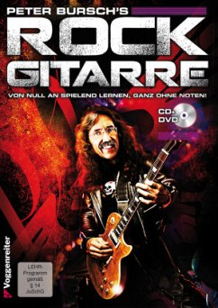 Rock Gitarre, m. CD-Audio