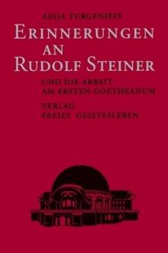 Erinnerungen an Rudolf Steiner - Turgenieff, Assia