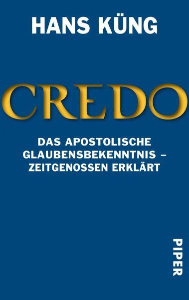 Credo - Küng, Hans