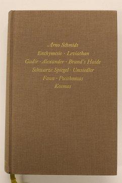 Bargfelder Ausgabe. Standardausgabe. Werkgruppe...