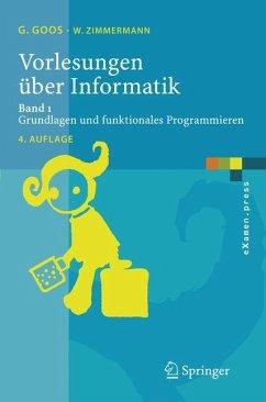 Vorlesungen über Informatik 1 - Goos, Gerhard