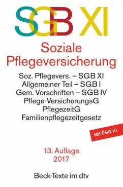 SGB XI, Soziale Pflegeversicherung - Einleitung von Schulin, Bertram
