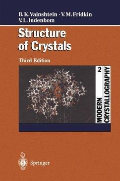 Modern Crystallography 2 - Vainshtein, Boris K.;Fridkin, Vladimir M.;Indenbom, Vladimir L.