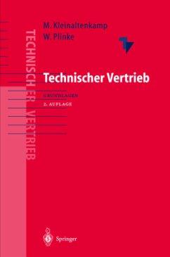 Technischer Vertrieb - Kleinaltenkamp, Michael / Plinke, Wulff (Hgg.)