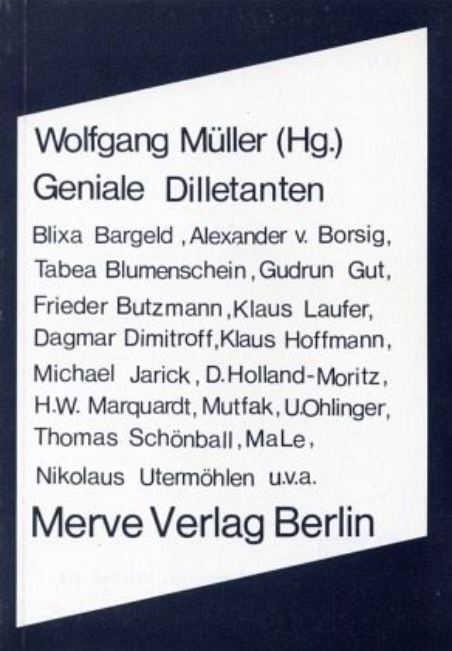Frieder Butzmann - Dive-Bombers