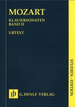 Klaviersonaten, Studien-Edition - Mozart, Wolfgang Amadeus - Klaviersonaten, Band II