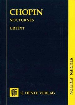 Nocturnes, Klavier, Studien-Edition