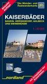 Kaiserbäder Bansin, Heringsdorf, Ahlbeck und Swinemünde 1 : 30 000