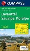 KOMPASS Wanderkarte Lavanttal - Saualpe - Koralpe