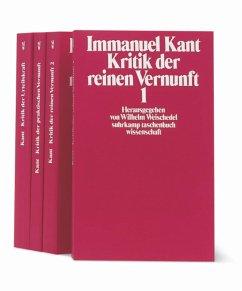 Die Kritiken - Kant, Immanuel