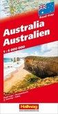 Australien; Australia; Australie/Hallwag Straßenkarten