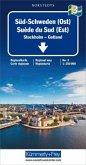 Kümmerly & Frey Karte Süd-Schweden (Ost); Suède du Sud (Est); Southern Sweden (East). Södra Sverige (Öst)