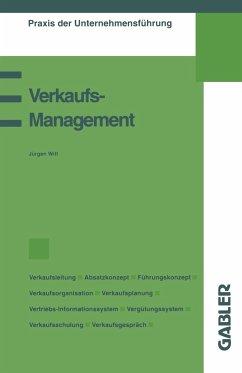 Verkaufsmanagement - Witt, Jürgen