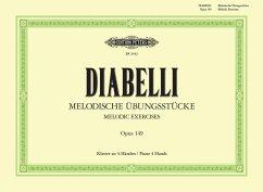Melodische Übungsstücke op.149, Klavier