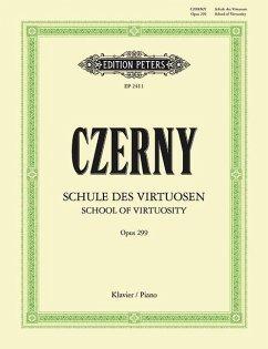 Schule der Geläufigkeit op.299 für KlavierSchool of Velocity