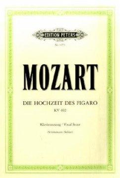 Die Hochzeit des Figaro, KV 492, Klavierauszug