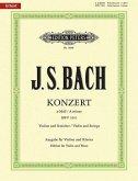 Violinkonzert a-Moll BWV 1041, Klavierauszug