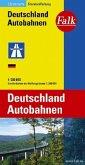 Falk Plan Deutschland Autobahnen; German Motorways