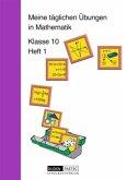 Meine täglichen Übungen in Mathematik Klasse 10 Heft 1