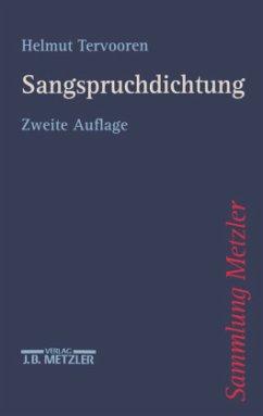 Sangspruchdichtung - Tervooren, Helmut