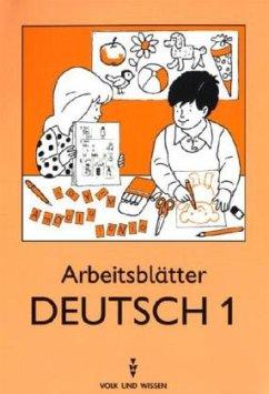 Mein Lesebuch 1 / 2. Meine Arbeitsblätter Deutsch 1