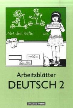 Arbeitsblätter Deutsch 2