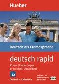 deutsch rapid, Deutsch-Italienisch, Audiokurs mit Arbeitsbuch und 2 Audio-CDs