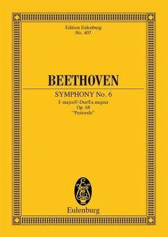 Sinfonie Nr.6 F-Dur op.68 (Pastorale), Partitur - Beethoven, Ludwig van