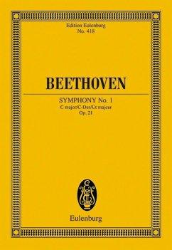 Sinfonie Nr.1 C-Dur op.21, Partitur
