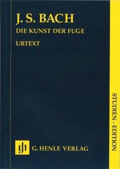 Die Kunst der Fuge BWV 1080, Cembalo (Klavier), Studien-Edition