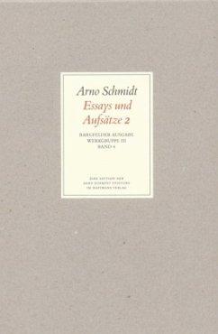 Bargfelder Ausgabe. Standardausgabe. Werkgruppe 3, Band 4 - Schmidt, Arno