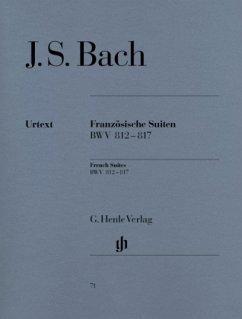 Französische Suiten BWV 812-817, Klavier