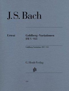 Goldberg-Variationen BWV 988, Klavier