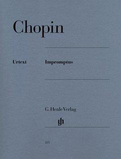 Impromptus, Klavier