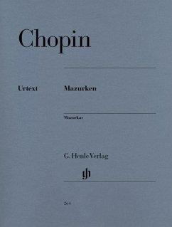 Mazurken, Klavier