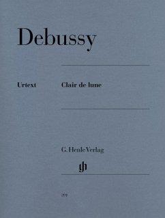 Clair de lune, Klavier